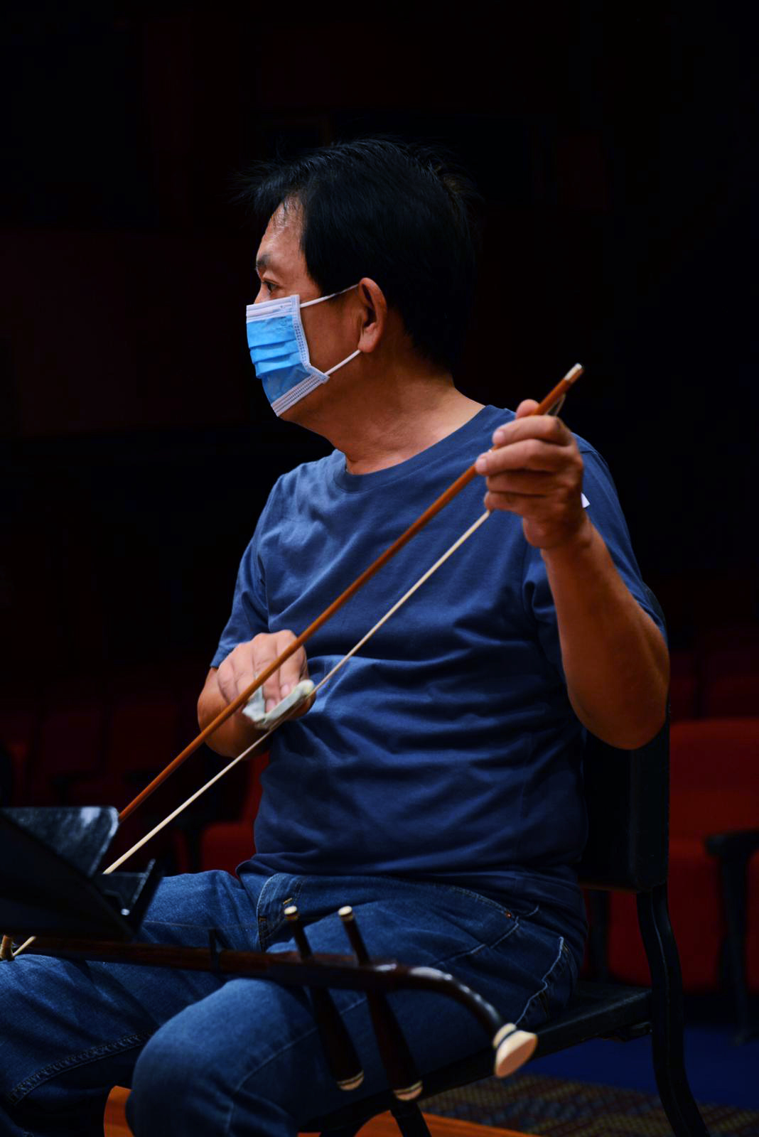 SCO_photo_editorial_17 COVID-19 Phase 2: Lights on! Singapore Chinese Orchestra back to rehearsal after 91 days